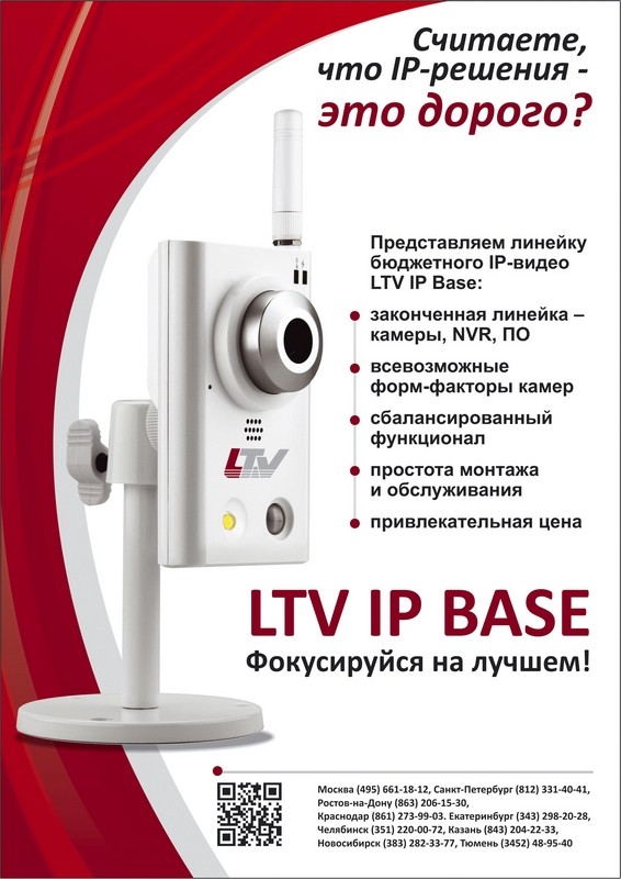 IP-видео LTV IP Base: