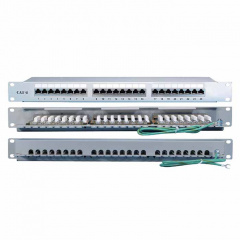 Hyperline PP2-19-24-8P8C-C6A-110D, патч-корд